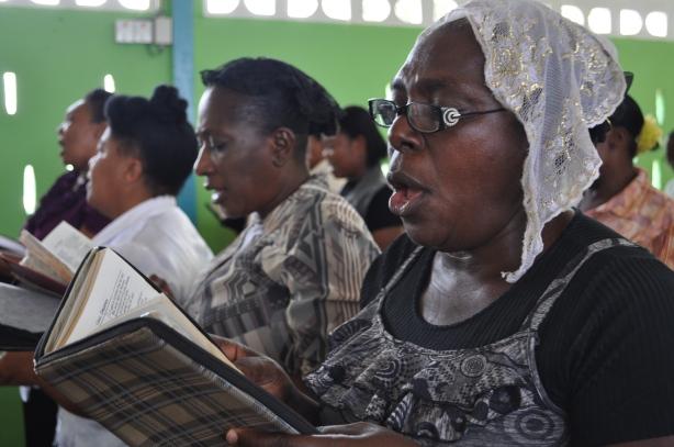 Haitian Churchgoers