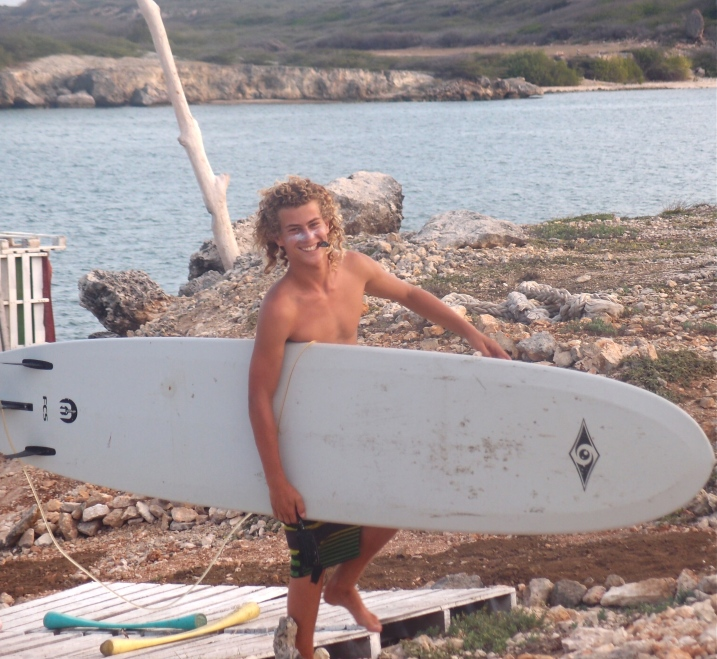 A Dutch surf instructor