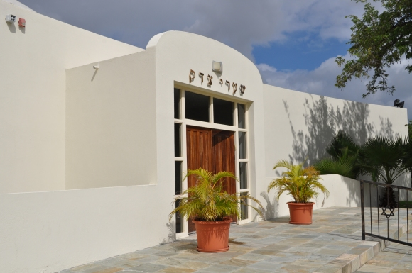 Shaarei Tsedek synagogue in Curacao